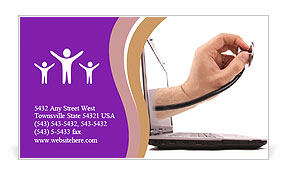 0000073325 Business Card Template