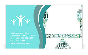 0000073581 Business Card Template