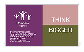 0000073780 Business Card Template