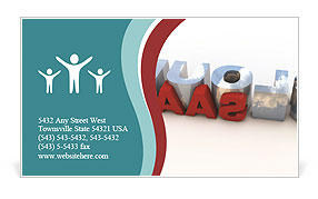 0000073902 Business Card Template