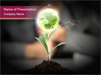 0000074145 PowerPoint Templates - Slide 1