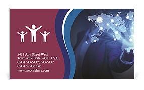 0000074294 Business Card Template