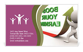 0000074345 Business Card Template
