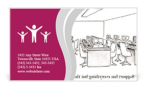 0000074383 Business Card Template