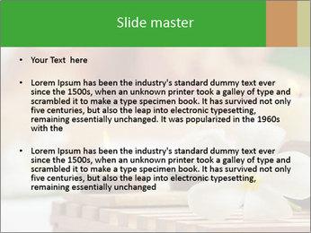 0000074454 PowerPoint Templates - Slide 2