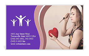 0000074604 Business Card Template