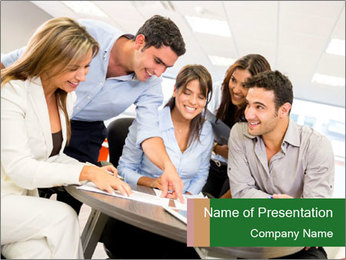 0000074719 PowerPoint Template - Slide 1