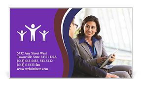0000074842 Business Card Template