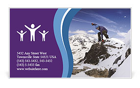 0000074998 Business Card Template