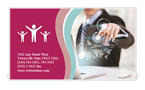 0000075180 Business Card Template