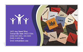 0000075287 Business Card Template