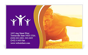 0000075377 Business Card Template