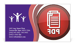 0000075382 Business Card Template