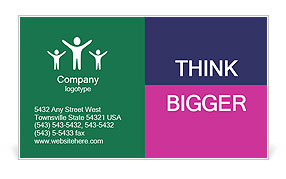 0000075518 Business Card Template