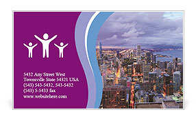 0000075534 Business Card Template