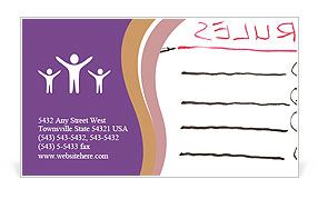 0000075594 Business Card Template
