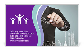0000075714 Business Card Template
