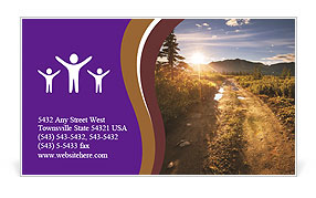 0000075872 Business Card Template
