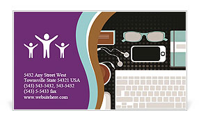 0000075921 Business Card Template