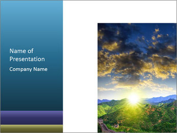 0000075981 PowerPoint Template - Slide 1