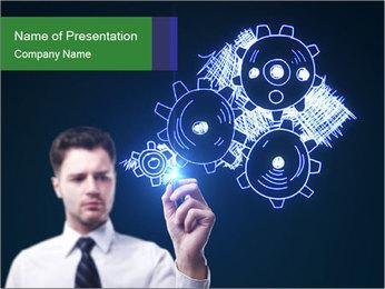 0000076054 PowerPoint Template - Slide 1
