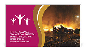 0000076065 Business Card Template