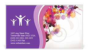 0000076213 Business Card Template