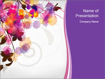 0000076213 PowerPoint Template - Slide 1