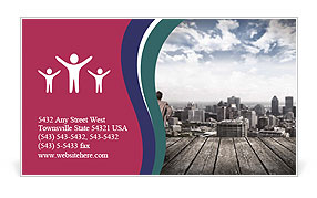 0000076374 Business Card Template
