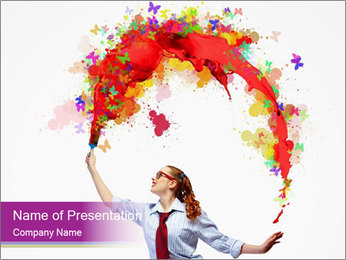 0000076444 PowerPoint Template - Slide 1
