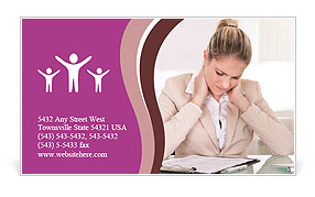 0000076505 Business Card Template