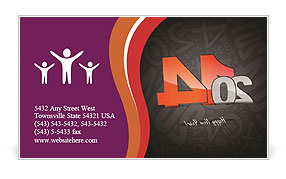 0000076806 Business Card Template