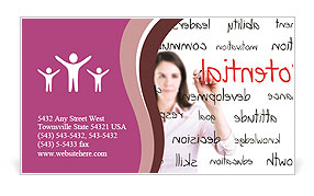 0000077224 Business Card Template