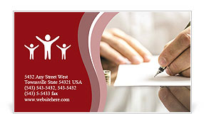 0000077256 Business Card Template