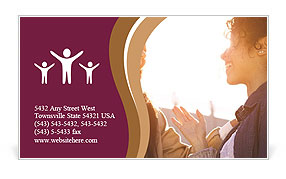 0000078004 Business Card Template