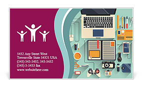 0000078201 Business Card Template