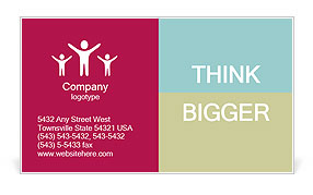 0000078935 Business Card Template