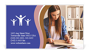 0000079345 Business Card Template