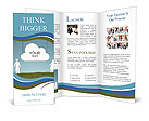 Cloud people Brochure Templates