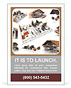 Model homes Ad Template