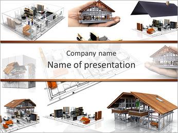 HOME modelo Modelos de apresentações PowerPoint