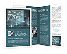 Business man of the future Brochure Templates