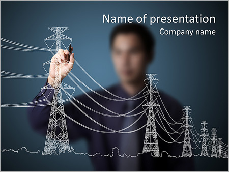 Electricity powerpoint template smiletemplates electricity powerpoint template toneelgroepblik Gallery