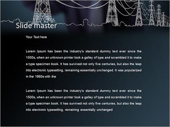 Électricité Modèles des présentations  PowerPoint