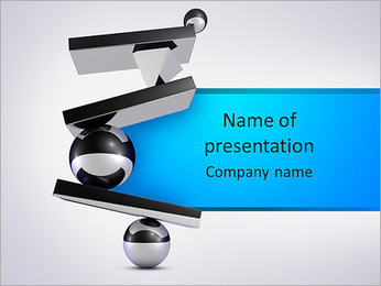 Harmony and balance PowerPoint Template
