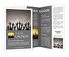 Hands up Brochure Template
