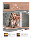 Finger on the fence Flyer Templates