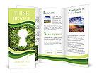 Keyhole nature Brochure Template