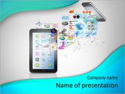 Application in your phone PowerPoint Templates