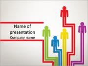 Colorful people PowerPoint Templates